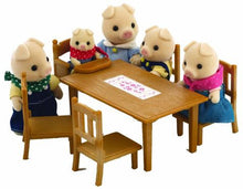 Sylvanian Families Table and Chairs with Baby Seat