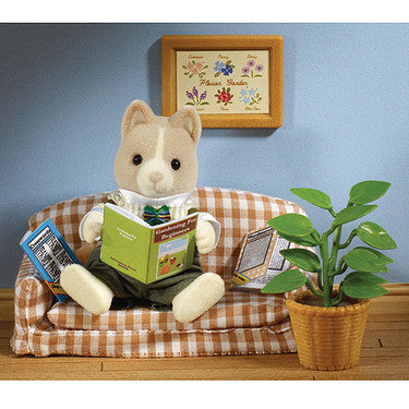 Sylvanian Families FAther at Home set Flair