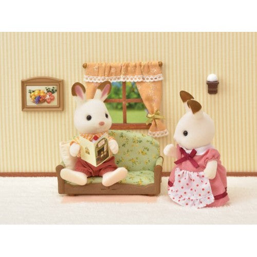 Sylvanian Families Living Room With TV Set   NEW In!