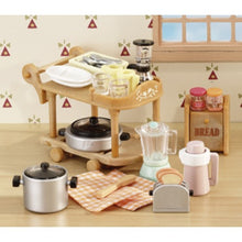 Sylvanian Families Kitchen Trolley Cookware Set SF 5090