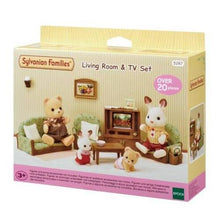 Sylvanian Families Living Room with TV set - NEW in!