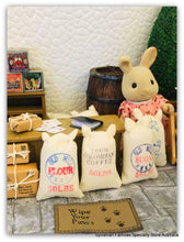 Sylvanian Families grocer shop accessories milk rabbit general store