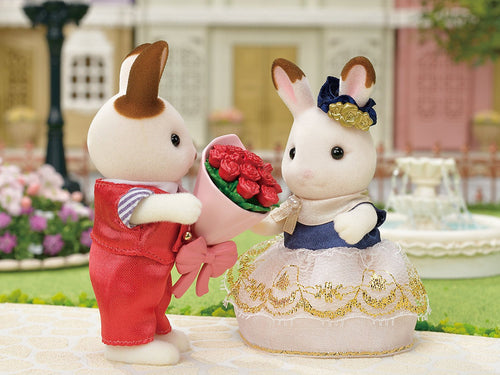 Sylvanian FAmilies boyfriend and girlfriend set