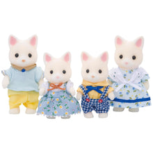 Sylvanian Families White Silk Cat Family SF 4175