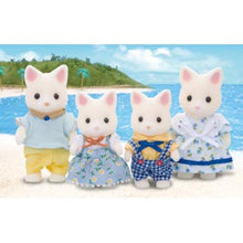 Sylvanian Families Silk Cat White cats Family SF 4175