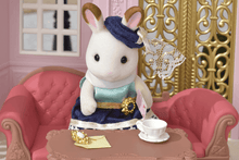 Sylvanian Families Stella -  Chocolate Rabbit Town Girl