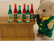 Sylvanian Trunk Elephant and bottles at bar