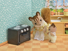 Sylvanian Families Classic Kitchen set fridge and oven