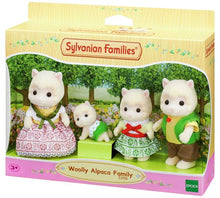 Sylvanian Famlies Woolly Alpaca Family new in