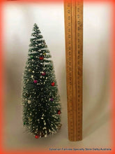Christmas Tree Tall - 26cm  Decorated