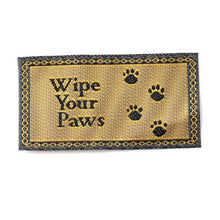 Dollshouse miniature wipe your paws
