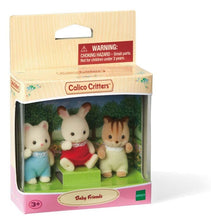 Sylvanian Families chipmunk silk cat chocolate rabbit