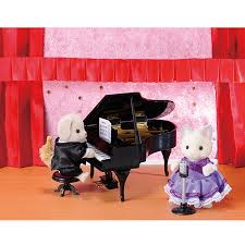 Sylvanian Families Ballroom Set with Grace & Kelly
