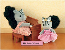 The Ballet Lesson - with Appleblossom Squirrels - BRAND NEW!