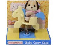 Sylvanian Families Beagle on Rocking Horse - Carry Case