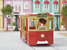 Sylvanian Families Ride Along Tram Conductor latest transport