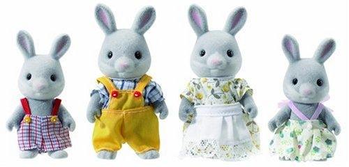 Sylvanian Families Cottontail Rabbit Family Sylvanian
