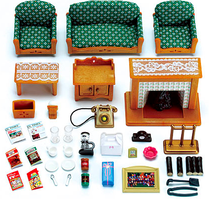 Wonderful ... Sylvanian Families Deluxe Living Room Set Best Prices For Sylvanian  Furniture