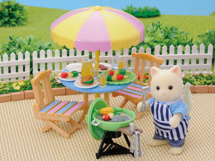Sylvanian Families Garden Barbecue Set - SF 4869