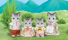 Sylvanian Families Flair UK Cat Family Harvey