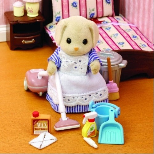 Sylvanian Families Housekeeping Set with Mrs Bassett  - SF 4706