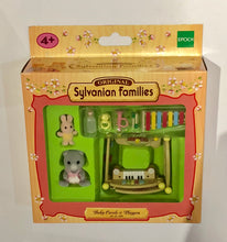 Sylvanian Families Baby Carole Bearbury and Playpen Set - RARE