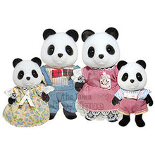 Sylvanian Families Pandas - Family of 4 in Stock