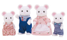 Sylvanian Families White Mouse Family -on sale