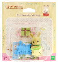 Sylvanian Families Ocher Rabbit baby on train - EU