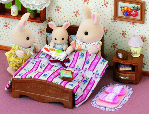 Sylvanian Families Furniture Semi double bed