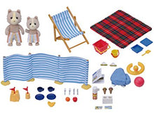 Sylvanian Families beach fun seaside party set