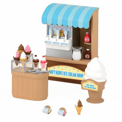 Sylvanian Families Soft Serve Ice Cream Shop - SF 5054