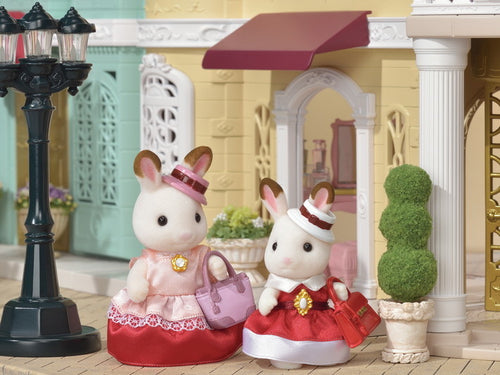 Sylvanian Families elegant Chocolate Rabbt mother and daughter set