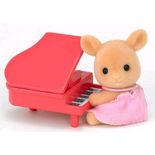 Sylvanian Families Deer Baby on Piano - European