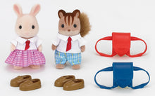 Sylvanian Families School Friends Set with shoes and satchels