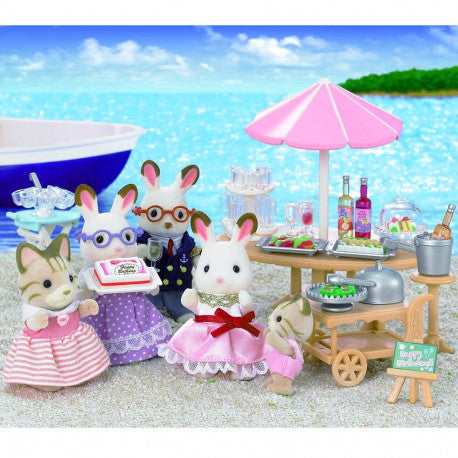 Sylvanian Families Seaside Birthday Party - SF 5207