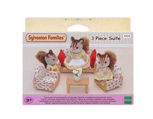 Sylvanian FAmilies red lounge suite