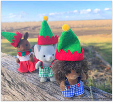 Miniature Dollshouse Elf hats Sylvanian Families
