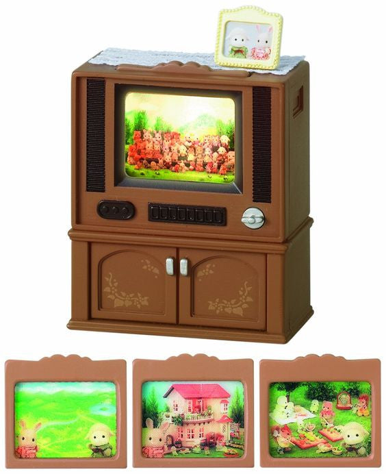 Sylvanian Families Deluxe Television Set