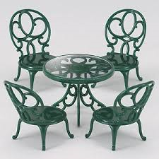 Ornate Garden Table and Chairs