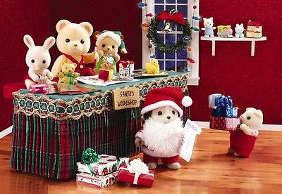 Calico Critters Christmas 2012 Limited Edition Rare
