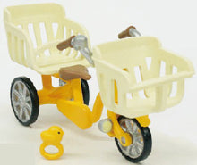 Yellow Bicycle Built for 3