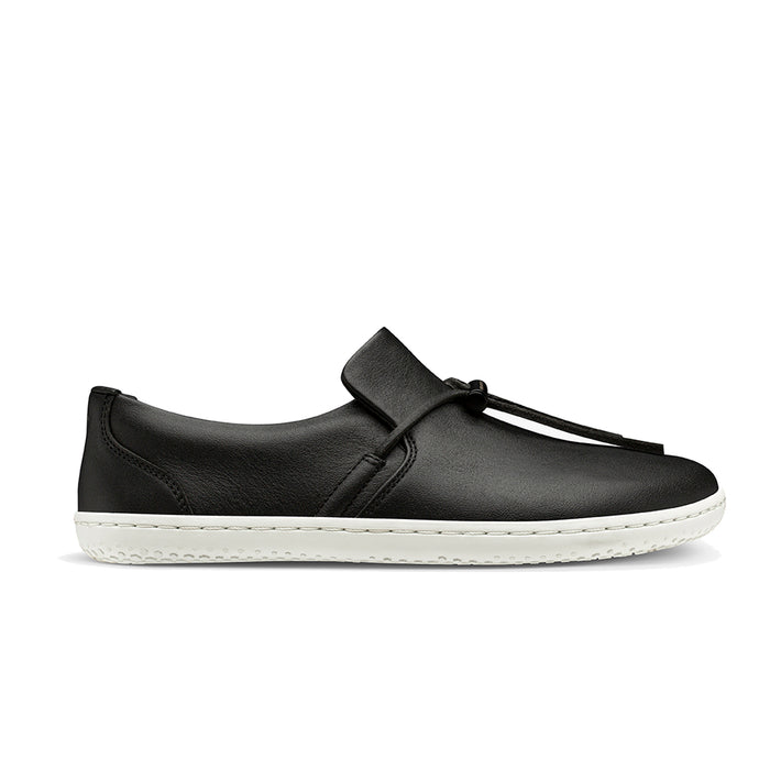 Vivobarefoot Ra Slip On Womens Obsidian/White - Genuine Vivobarefoot Shoes - ShoesVB