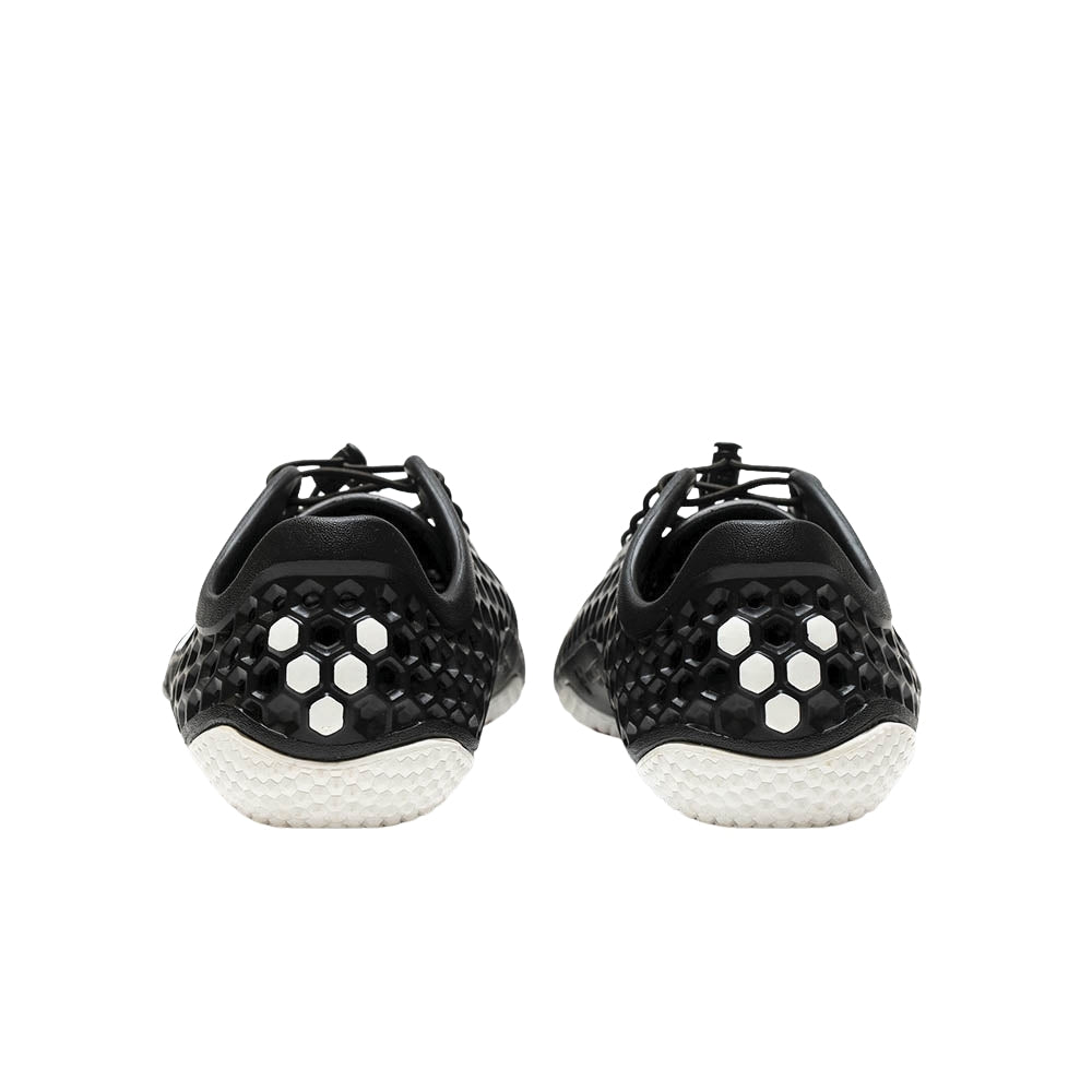 Vivobarefoot Ultra III Bloom Mens Obsidian Back