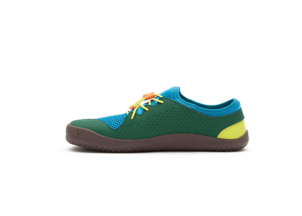 Vivobarefoot Primus Colour Kids Blue/Green/Yellow - Genuine Vivobarefoot Shoes - ShoesVB