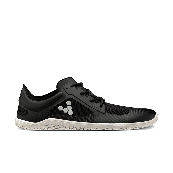 Vivobarefoot Primus Lite II Bio Womens Black/White - Genuine Vivobarefoot Shoes - ShoesVB