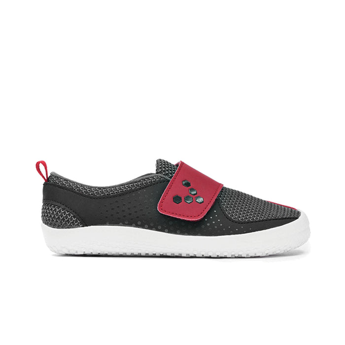 Vivobarefoot Mini Primus Kids Mesh Black/Red - Genuine Vivobarefoot Shoes - ShoesVB