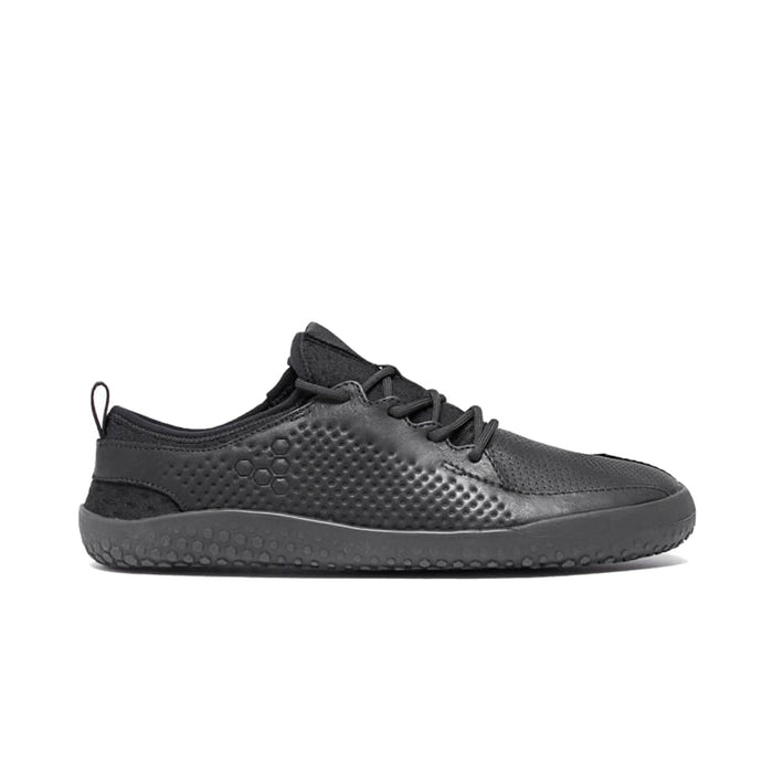 Vivobarefoot Primus School Jnr Kids Leather Black - Genuine Vivobarefoot Shoes - ShoesVB