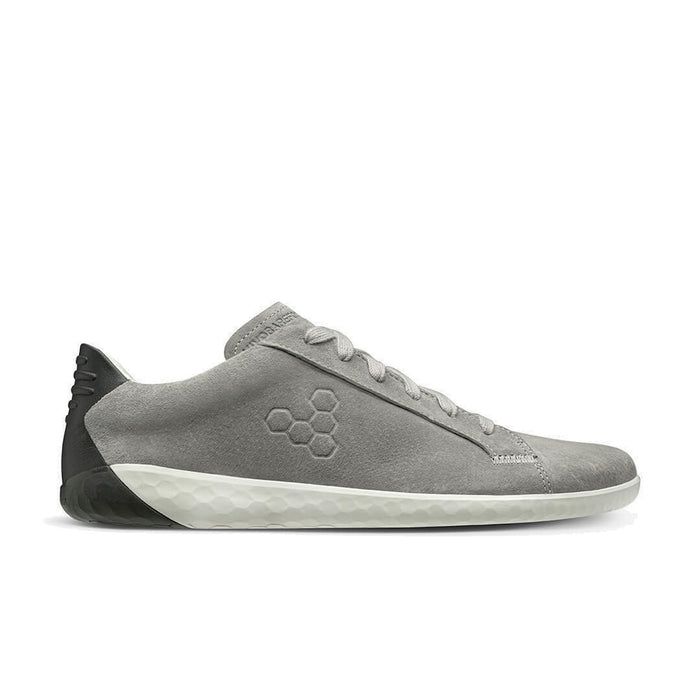 Vivobarefoot Geo Court Nubuck Womens Zinc Grey - Genuine Vivobarefoot Shoes - ShoesVB