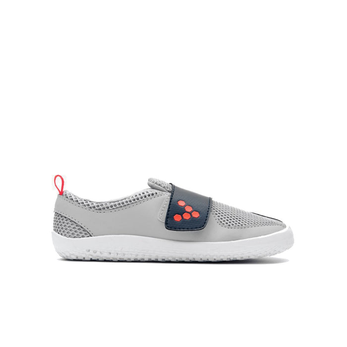 Vivobarefoot Primus Kids Grey Navy Orange - Genuine Vivobarefoot Shoes - ShoesVB